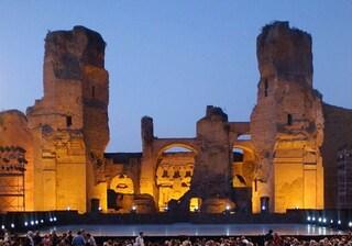Visitare le Terme di Caracalla di notte: fino al 29 settembre è possibile. Tutte le informazioni