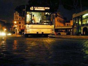 Bus notturno Atac a Roma