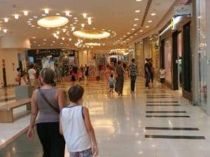 centro commerciale roma est mappa e negozi del centro