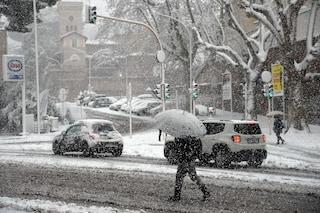 Neve a Roma: ondata di freddo e massime in calo, ma niente fiocchi nella Capitale fino al 20 gennaio