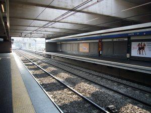 La Stazione di Ponte Mammolo [Foto da Wikipedia]