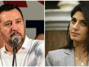Matteo Salvini, Virginia Raggi