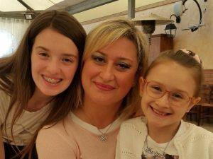 Alessia, Martina e la mamma Antonietta