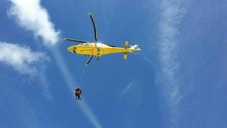 Precipita durante un'arrampicata: soccorso in elicottero Mario muore a 34 anni