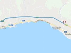 Il tratto di autostrada chiuso – CCISS