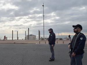 Operazione di polizia a Ostia