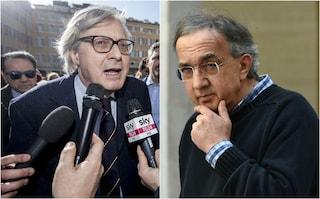 Sutri, Vittorio Sgarbi intitola una strada del paese a Sergio Marchionne: è la prima in Italia