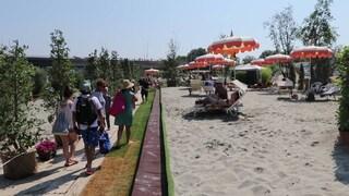 Tiberis, la spiaggia sul Tevere, potrebbe riaprire il 20 luglio 2020