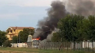 Roma, principio d'incendio su un bus Atac: ma per fortuna era vuoto