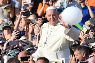 """Il Papa per la festa dell'Immacolata a piazza di Spagna, l'appello ai fedeli: """"Unitevi a me"""""""