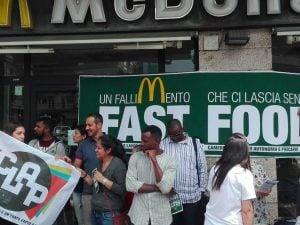 McDonald's di piazza Pio XI a Roma
