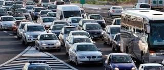 Carambola tra 4 auto sul Raccordo: traffico paralizzato tra Tiburtina e Prenestina