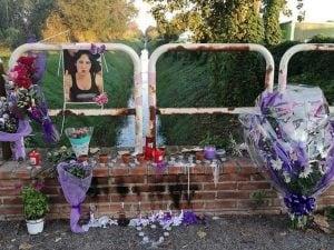 Il canale di bonifica a Fiumicino dov'è stato trovato il corpo senza vita di Maria Tanina Momilia