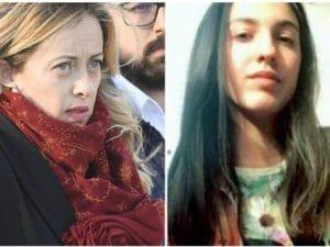 Desirée Mariottini e Giorgia Meloni (La Presse)