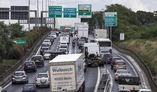 Incidenti stradali a Roma giovedì 31 gennaio: code sul Raccordo, traffico in tilt