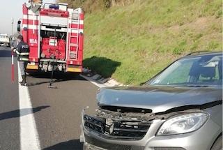 Incidente tra Ferentino e Anagni: 4 chilometri di coda sull'Autostrada A1