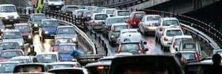Roma, traffico da incubo sul tratto urbano dell'Autostrada A24: 8 chilometri di coda