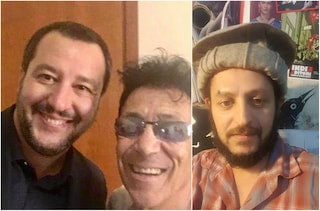 Roma, tenta di avvicinare Matteo Salvini durante un concerto e viene fermato dalla polizia