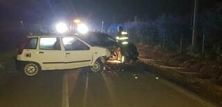 Sezze, schianto frontale tra due auto: perde la vita Francesco Iacovacci