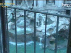 La vista sulla Fontana di Trevi dalla casa di Ernesto Diotallevi, membro di spicco della Banda della Magliana