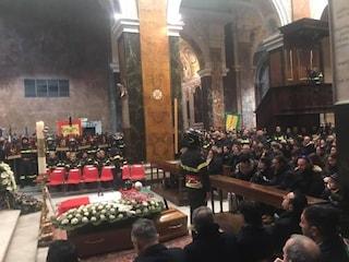 Rieti, esplosione su via Salaria: i funerali di Stefano Colasanti e Andrea Maggi