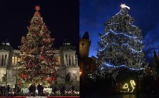 Spelacchio e gli altri: quello di Roma è l'albero di Natale più bello d'Europa?