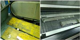 Metro B di Roma, rotta da due mesi una passerella mobile nella stazione Piramide