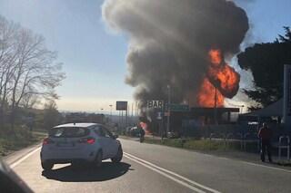 """Rieti, esplosione su via Salaria, i testimoni: """"La terra ha tremato, sembrava il terremoto"""""""