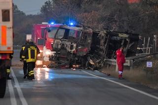 Esplosione Rieti, indagato per omicidio colposo l'autista dell'autocisterna