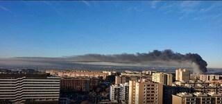 Incendio Tmb Salario: nube nera su Roma. La procura indaga per disastro colposo