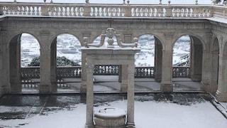 Neve a Frosinone, traffico e incidenti sull'A1 Cassino-Sora: mezzi pesanti escono di strada