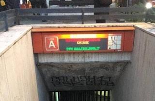 Metro A Roma, chiusa la stazione Barberini per verifiche sulle scale mobili