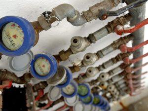 I consigli di Acea per proteggere i contatori dell'acqua dal gelo (Foto LaPresse)