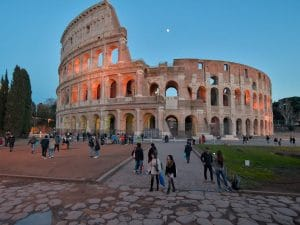 Colosseo (Foto LaPresse)