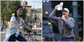 """Anche Claudio Santamaria scarica Virginia Raggi: """"Non risalirei su un palco per sostenerla"""""""