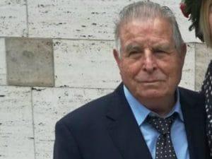 Romolo Onorati, 88 anni, scomparso ieri a Roma