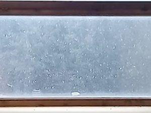 """Nevicata in corso a Carpineto Romano – Foto Facebook pagina """"Meteo neve Roma e Castelli"""""""