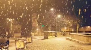 Prevista neve nella notte sui Castelli Romani e sulle colline del Lazio al di sopra dei 400 metri