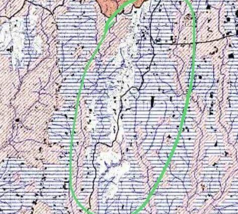 Mappa di Pizzo del Prete