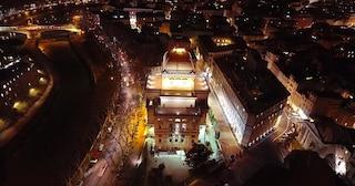 Nuova luce per la Sinagoga di Roma, che di notte resterà sempre illuminata