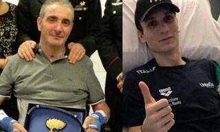 """Carabiniere rimasto paralizzato scrive a Manuel Bortuzzo: """"Puoi fare ciò che vuoi, basta volerlo"""""""