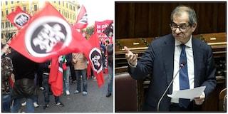 Il ministro Giovanni Tria blocca lo sgombero di Casa Pound