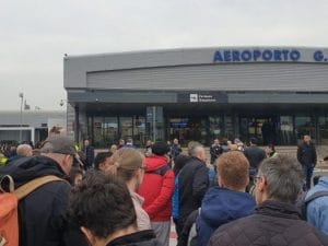 Aeroporto di Ciampino evacuato