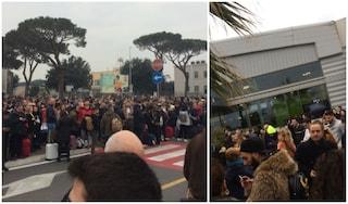 """Incendio all'aeroporto di Ciampino, scalo evacuato. Enac: """"Operatività in ripresa"""""""