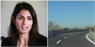 """Riapre il viadotto della Magliana dopo mesi, la sindaca Raggi: """"Ritardi colpa dell'impresa"""""""