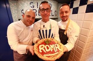 """Roma, apre la pizzeria di Gino Sorbillo: """"Chi vuole la pizza dei vicoletti di Napoli deve venire"""""""