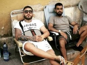 I due ragazzi responsabili del ferimento di Manuel Bortuzzo