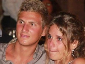 Marco Vannini e Martina Ciontoli
