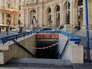 Metro A Repubblica chiusa da quattro mesi