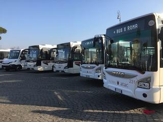I 70 bus noleggiati da Atac in Israele sono fermi in rimessa perché troppo inquinanti